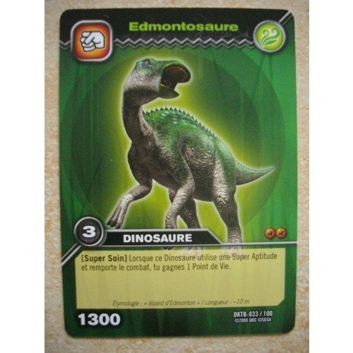 Vds cartes dinosaur king annonces forum vie pratique - Carte dinosaure king ...