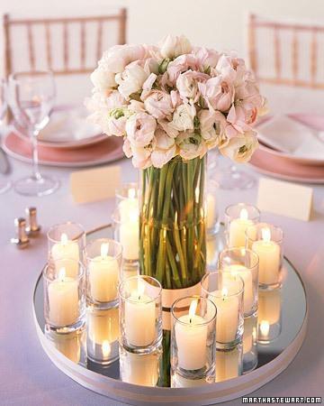 5 centres table mariage petites bougies l zwmma2 - Centre De Table Bougie