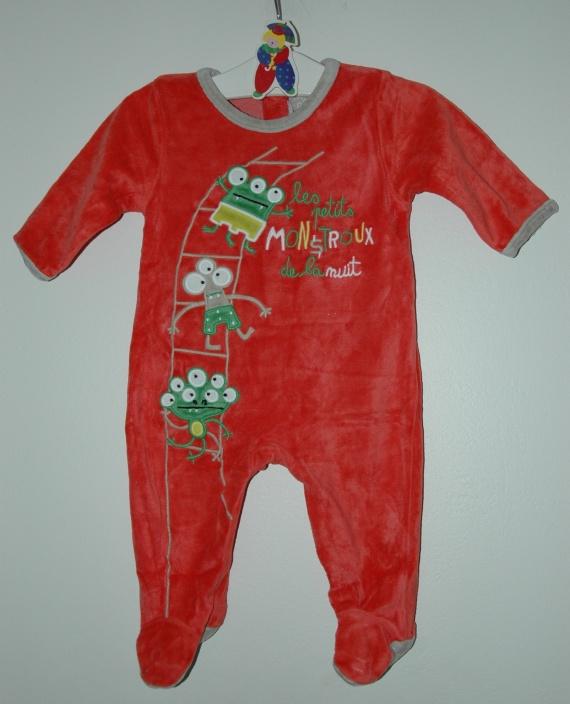 pyjama 3 mois DPAM TBE - 3.50€