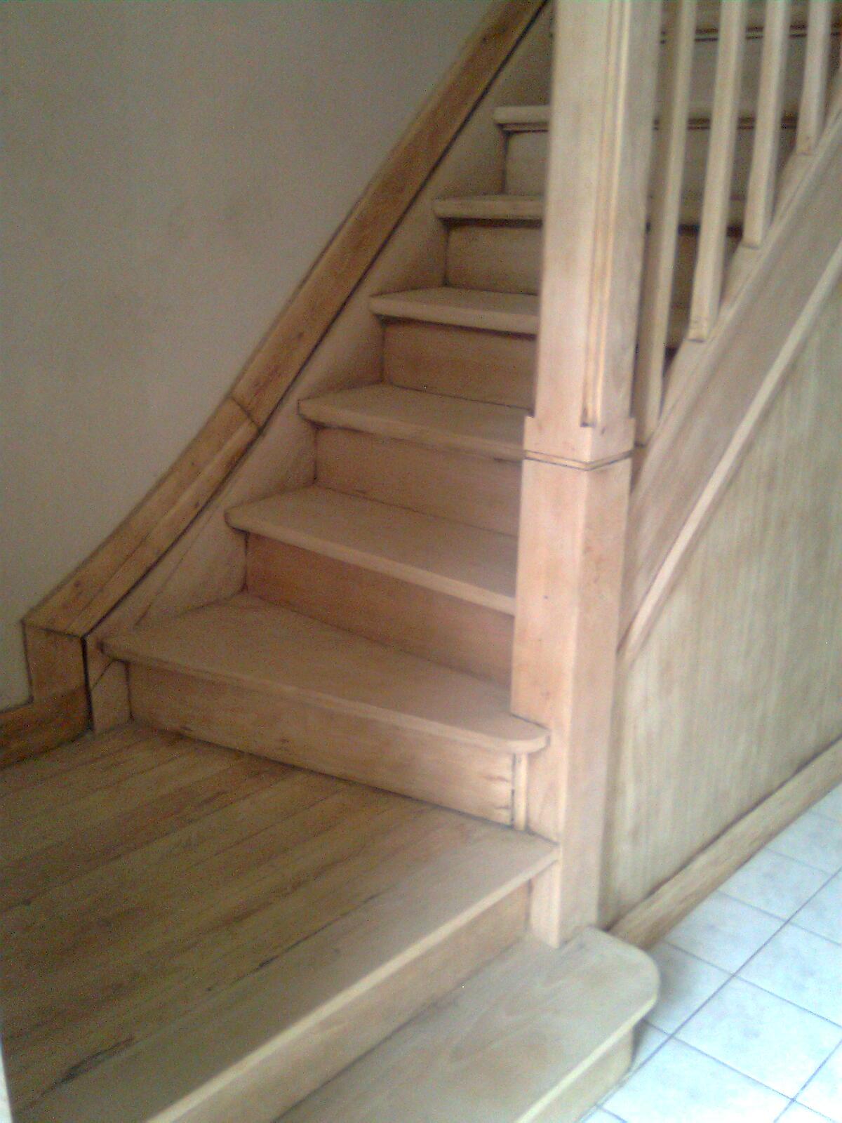 Poncage Escalier En Bois poncage et finition d'escalier - bricolage - forum vie pratique