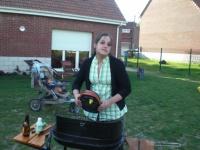 préparation barbec par Karine