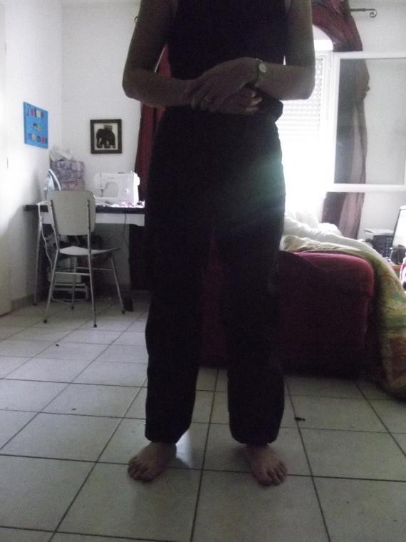 pantalon bouffant face