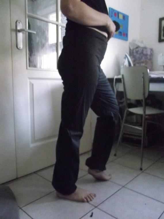 pantalon bouffant dos