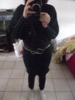 robe en jersey de laine