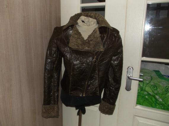 veste peau lainée burda