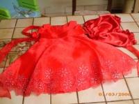 la robe de Maë-Lou