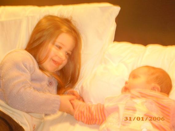 Rachel et Maë-Lou