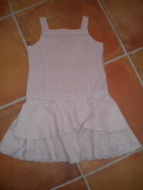 3 ans Robe TAO coton/lin : 4€