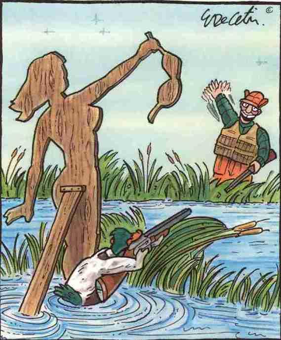 Appelant à la chasse