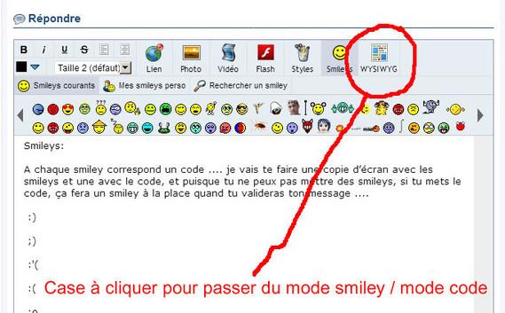 Mode Smiley vs code