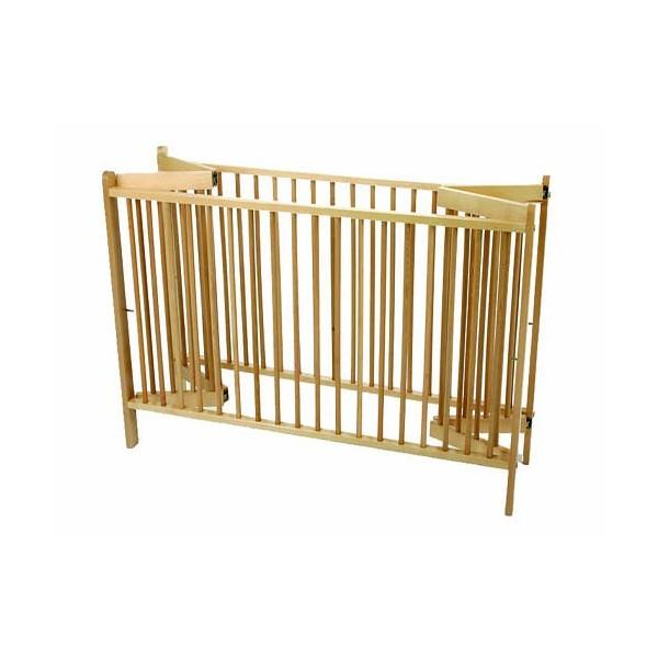 lit a barreaux en bois pliable agreement loushym photos club doctissimo. Black Bedroom Furniture Sets. Home Design Ideas