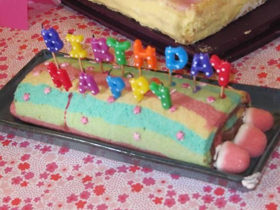 cake arc en ciel