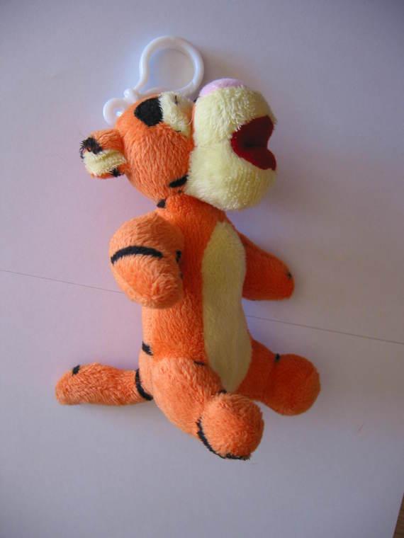 Porte-clé Tigrou - Doudous Disney (Winnie, Bourriquet, Porcinet, Tigrou, Minnie, Daisy, etc.) - meluesine - Photos