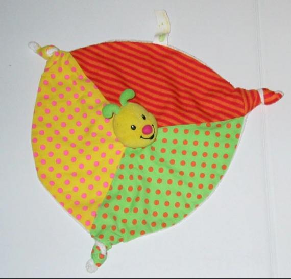 B b confort doudou plat multicolore chenille papillon 10 frais de port doudous b b - Frais de port mon album photo ...