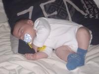 gros dodo dans le lit de maman