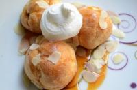 choux a la crème et fleur d'oranger 1