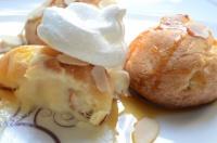 choux a la crème et fleur d'oranger