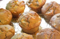 muffins pommes cannelle-gimgembre