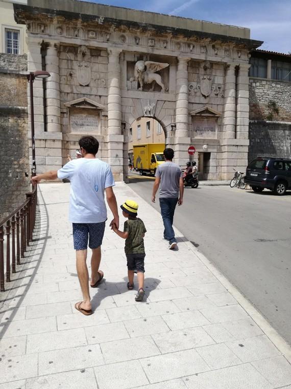 Zadar entré vieille ville