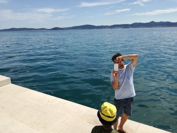 Zadar mer