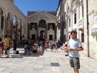 Split place palais diocletien