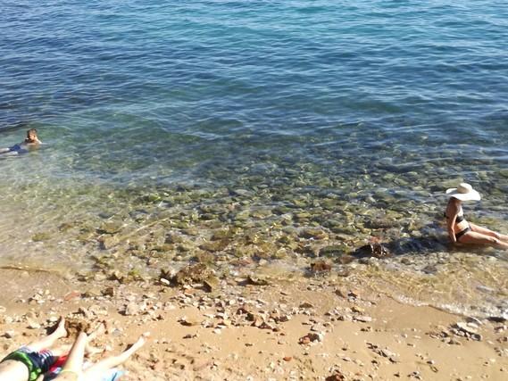 Zadar plage