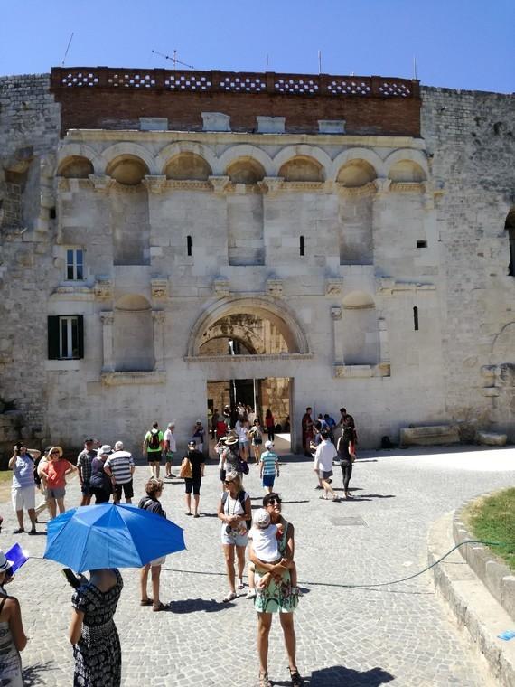 Split porte