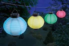 Lampions au plafond led salles et d corations for Lampions exterieur led