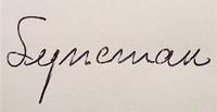 Signature gauche
