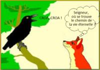 Corbeau et renard