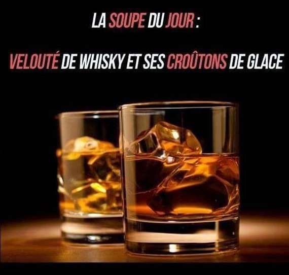 soupe de whisky