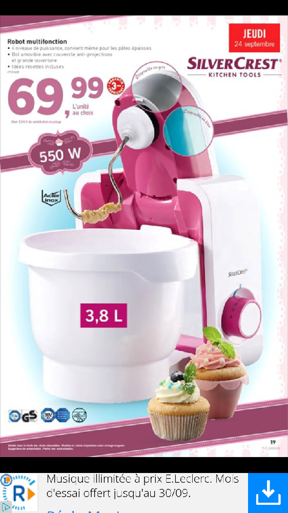 robot lidl les ramadanettes forum grossesse b b. Black Bedroom Furniture Sets. Home Design Ideas
