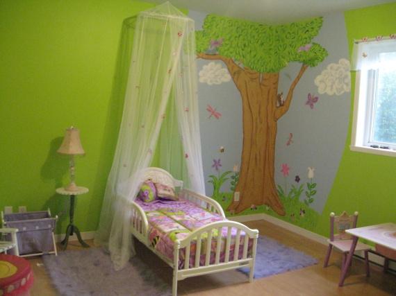 Deco de chambre de petite fille 4 ans mamans et for Deco chambre fille 2 ans