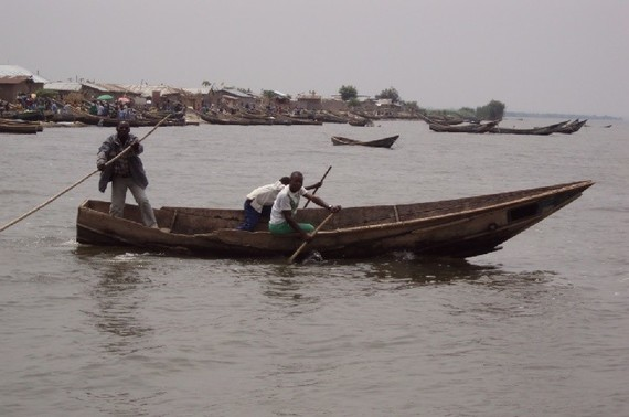 Un village de pêcheurs sur le Lac Tanganyika au Burundi