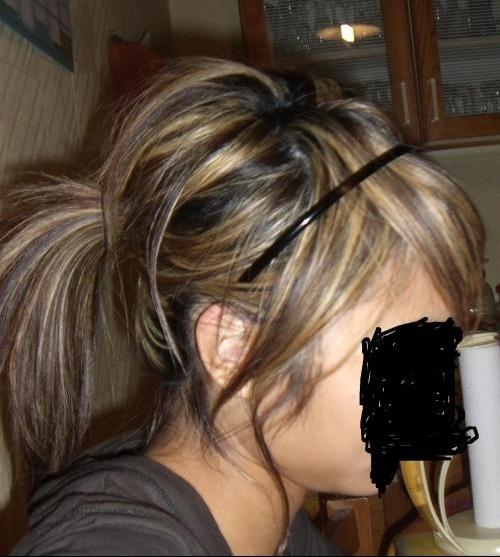 M che ou balayage urgent coiffure et coloration forum beaut - Meche blonde et chatain ...