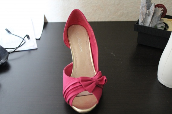 mes chaussures - Chaussure Fushia Mariage