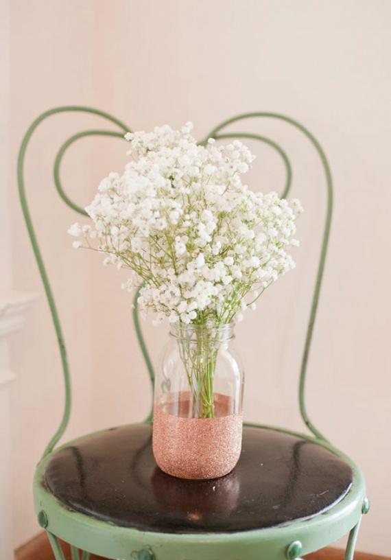 vase brillant