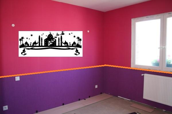 peinture chambre fille rose violet free photo chambre. Black Bedroom Furniture Sets. Home Design Ideas