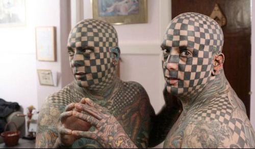 chessfacetattoo