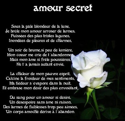 Poeme Amour Secret Poemes D Amour Aureliendecaen