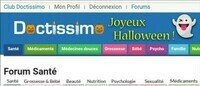 Halloween sur Doctissimo