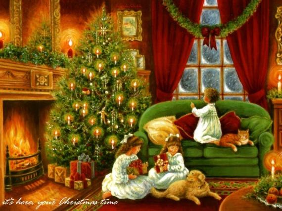 Sereine soirée de Noël