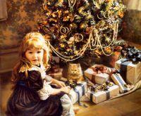Noël dans les années 1850