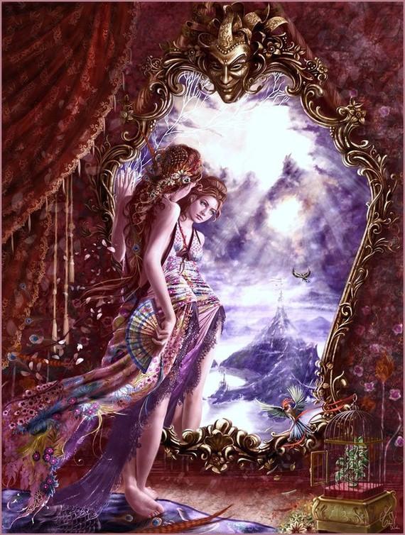Se regarder dans un miroir