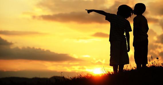 les enfants et l'avenir