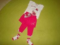 Ensemble SERGENT MAJOR Short+Legging+Ceinture+Chaussettes+Tee-Shirt - 6 mois - 20€