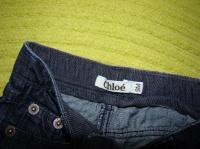 Étiquette du jean CHLOE