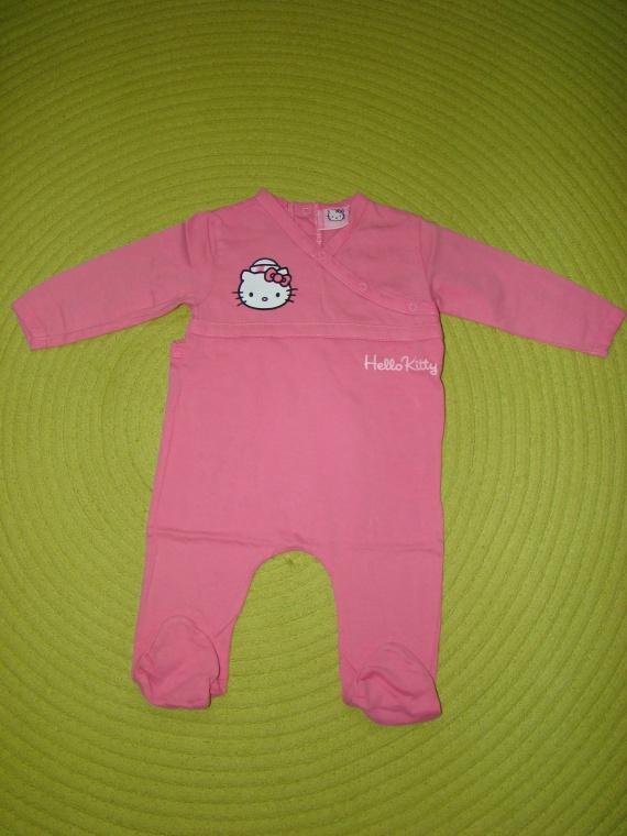 """Pyjama fin """"HELLO KITTY"""" - Taille 6 mois - 2€"""