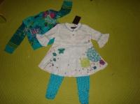Ensemble Spirit Denim Kid et legging Layette - Taille 2 ans