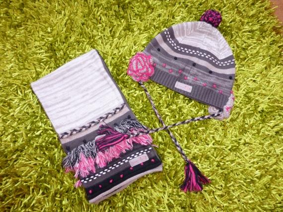 Ensemble CATIMINI Bonnet (taille 3) + écharpe (taille 1) 30€ - A ... e0f719f005b